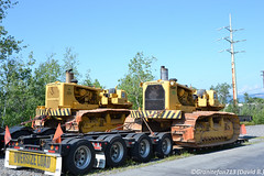 Cat 594H Pipelayers (Trucks, Buses, & Trains by granitefan713) Tags: cat caterpillar pipelayer cat594h 594h heavyequipment machinery old iron