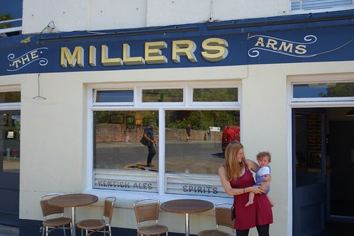 Ms. Miller at the Millers Arms