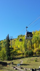 Vail, Colorado 9.18.16 (Dullboy32) Tags: dullboy32 fall leaves colorado yellow fallleaves aspens trees vail ski skiresort skilift aspentrees outdoors view roadtrip