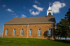 Albia, Iowa 9/24/2016 (Doug Lambert) Tags: stpatrickschurch church sandstone historicbuilding building catholic midwest georgetown iowa albia sotherniowa highway34 scenic stucture 1860