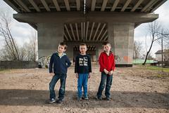 (Derek Knight Photography) Tags: urban boys children overpass boyhood gangland