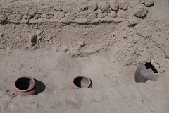 Incan site (koukat) Tags: dog peru san lima hairless isidro miraflores barranco peruvian huaca huallamarca