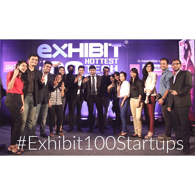 The team behind @exhibitmagazines #Exhibit100Startup event. Catch it on Saturday 11 April, 12.30pm on NDTV Profit. #startups #tech #events #fun #teamwork Made with @nocrop_rc #rcnocrop