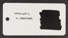 Noodler's X-Feather - Word Card
