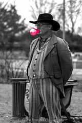 I love my bubble gum!! (Al_Ram) Tags: cowboy bubblegum colorsplash oldwest