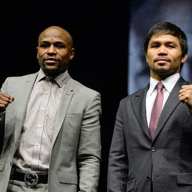 Mayweather vs Pacquiao #boxing #thefight #lasvegas #callit