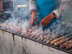 Fergana Tal, Grillrestaurant in Margilan (tgutgu) Tags: urlaub orte margilan usbekistan grillrestaurant ferganatal 2014usbekistan