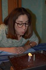 DSC_7940 (jjldickinson) Tags: cake dessert candle longbeach birthdaycake wrigley ellendickinson nikond3300 promaster52mmdigitalhdprotectionfilter nikon1855mmf3556gvriiafsdxnikkor 102d3300
