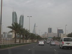 On our way to The capital Manama!