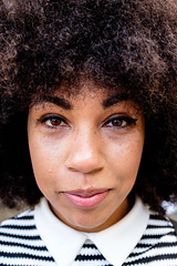 Bristol; July 2016 (Daniel Durrans) Tags: street portrait urban woman smile face festival lady bristol afro streetphotography streetportrait singer harbourside welshback harboursidefestival facesofbristol