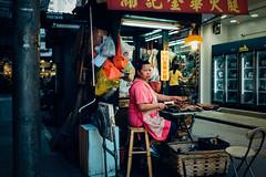 life in hong kong (kevinphotos2015) Tags: leica q hongkong old green woman street