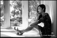 Shooting Without Preparation - Home Portrait XT3736e (Harris Hui (in search of light)) Tags: harrishui fujixt1 digitalmirrorlesscamera fuji fujifilm vancouver richmond bc canada vancouverdslrshooter mirrorless fujixambassador xt1 fujixcamera fujixseries fujix fuji35mmf2 35mm standardlens monochrome portrait girl japanese yuritakase blackwhite digitalbw posed posedportrait availablelight window woman greenfilter