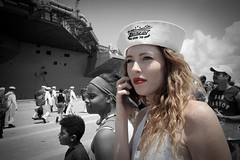 USS Truman Wife (itsAngelo) Tags: angelospeach usstruman redhead loyalnavywife norfolkvirginia partofwhatmakesnorfolkgreat ussharrystruman deployment homecoming blueeyes militaryforces navy airforce marines army coastguard weloveyouall firsttimeinexplore