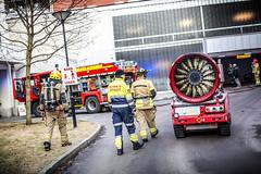lmh-kingosgate11 (oslobrannogredning) Tags: brann luf parkeringshus rykdykker bilbrann luf60 parkeringskjeller rykdykkere garasjeanlegg