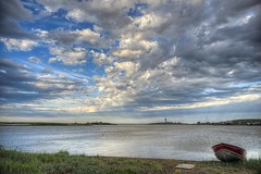 TGIF (savillent) Tags: sky clouds landscape waterscape water harbor tuktoyaktuk northwest territories canada arctic north summer friday savillent climate weather travel july 2016