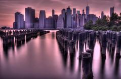 Manhattan from Brooklyn (_DSC0782) (nfk666) Tags: nuevayork newyork brooklyn manhattan haida 301000x 10stop ndfilter bridge nyc dumbo