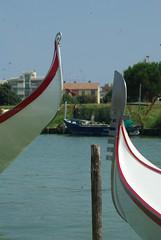 poppa e prua (Fabio.Buoso) Tags: gondole gara voga tradizione caorle mare canale