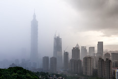 - In the rain (basaza) Tags: canon 30d 1635  taipei101 101 taipei
