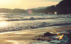 (felix.h) Tags: canoneos400d canon eos 400d digitalrebelxti eoskissdigitalx tokina5013528 tokina50135mm28 lepradet coast shore coastline shoreline beach sea ocean mediterraneansea mediterranean summer water lightrays landscape seascape dreamlike