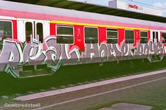 imm002_3A (coloredsteel) Tags: rossmann 400 fuji graffiti ulm train writing bombing trainspotting coloredsteel streetart analog street photography minolta 7000 af