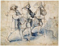 The three blinds leading each other to the abyss (petrus.agricola) Tags: drawing pieter bruegel elder