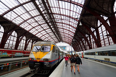 Centraal Station - Astrid, Antwerp, Beligium. () Tags: canon 6d 1740l belgium antwerp friends relax frank photographer rain train centraalstation