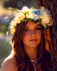 Garlanded with Sun (Cardwell Photo LLC | Thanks for 2 Million Views!) Tags: autumn backlighting backlit beautiful beauty brazoriacounty brown cemetery cosplay costume evening fall floralheaddress flowers girl gold goldenhour greaterhouston leaning meetup model oldcolumbiacemetary outdoor ppl park people pink plants portrait shyennenew standing teen texas tree warm westcolumbia yellow