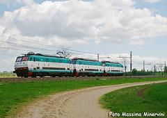 Rolling (Massimo Minervini) Tags: e444rxmpr e444r rolling e444r079 trenitalia ferrovia ti tartaruga lineamilanobologna fiorenzuola piacenza treni train railroads rail canon400d