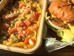Amy's Drive-Thru Vegan Mac and Cheese and Vegan Burger (Tony Webster) Tags: amys amysdrivethru california rohnertpark drivethru fastfood vegan veganburger veganfastfood veganmac veganmacandcheese vegetarian santarosa unitedstates us