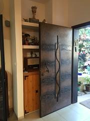 Potter's House, Ramat Yishay (Assaf Shtilman) Tags: door metal work artist house