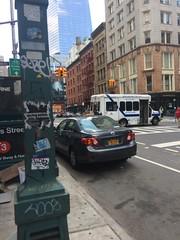 Manhattan TriBeCa (jasal11) Tags: manhattan eggshells slaptags tags graffitti graff nyc nya newyork graffittigraffnewyorkmanhattan