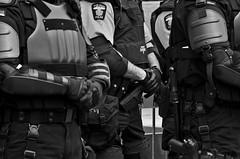 IMG_7138 (Wespennest) Tags: ohio blackandwhite bw police toledo guns riotcops bodyarmor