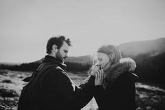 (Mariola Zoladz) Tags: england people blackandwhite sun love 35mm engagement couple lovers emotions nikond610