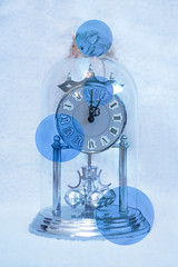 Hickory Dickory Dock (Adele J Baron) Tags: camera blue art clock nature animal pencil canon project mouse photography 50mm artistic drawing surrealism nursery creative surreal 5d concept draw conceptual nurseryrhymes canoncamera surrealworld 5dmarkiii 5dm3 surrealistworld