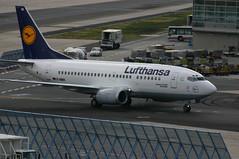"Lufthansa Boeing 737-500 D-ABIA ""Greifswald"" @FRA/EDDF airport (oliverrichter1206) Tags: frankfurt boeing lufthansa fra eddf 737500 dabia"