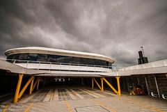 Car Deck - Condor Liberation (Jonathan Huelin) Tags: ferry clouds boat nikon deck jersey condor channelislands austal d3000