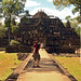 Baphuon Camino del templo y posando