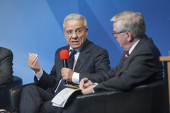 Mahmoud Ben Romdhane partakes in the discussion