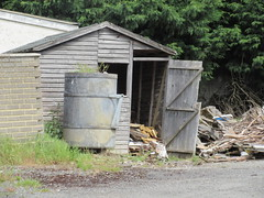 Full of wood IMG_5639 (tomylees) Tags: wood angel barrel shed may 11th monday essex braintree 2015