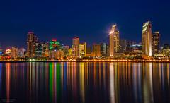 City with Sol, San Diego (nagarajan_kanna) Tags: longexposure nightphotography skyline cityscape nightscape sandiego citywithsol