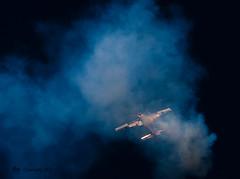 smoke_9003 (FOXXBATPIX) Tags: hurricane bronco aerobatics spitfires p51mustangs gliderdemo