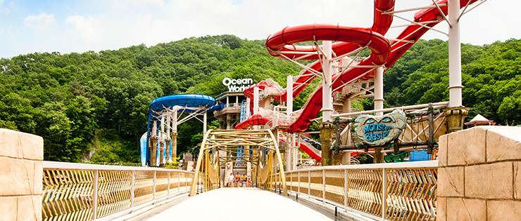water park at Daemyung