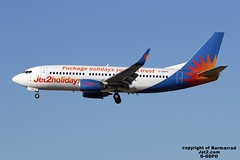 G-GDFO LMML 19-07-2016 (Burmarrad) Tags: cn aircraft airline boeing registration 28740 jet2com 7373u3 lmml ggdfo 19072016