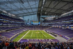 US Bank Stadium (Doug Wallick) Tags: usbank stadium new open house minnesota vikings football palace dome transparent nfl field urple minneapolis downtown july 2016