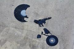 Kesa_7217 rue Saint Maur Paris 11 (meuh1246) Tags: streetart paris animaux oiseau kesa ruesaintmaur paris11