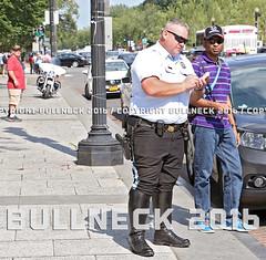 USPP, July '16 -- 17 (Bullneck) Tags: summer americana washingtondc federalcity cops police heroes uniform macho toughguy biglug bullgoons uspp usparkpolice motorcops motorcyclecops motorcyclepolice breeches boots highandtight gun