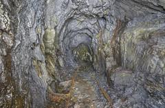 Dead Tracks (AnotherStepAway) Tags: light urban dark underground mine darkness digging deep tunnel down mining minerals mineral below miner urbex bergwerk