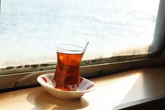 ay.. (sekerciozkan) Tags: ay istanubl istanbul boaz vap vapur ferry konstantinapolis tavankan manzara bardak demli tea yurkey trkiye
