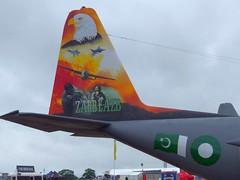 4144 Hercules Fairford (ZD703) Tags: c130 fairford riat c130e 4144 lockheedhercules pakistanairforce 64144 riat2016 fairford2016 664144