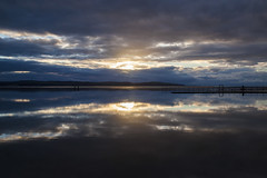 West Kirby Marine Lake (David Chennell - DavidC.Photography) Tags: reflection wirral westkirby calm water marinelake